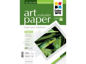 "Fotopapier CW ART Lesklý ""Snakeskin"" 230g/m?,10ks,A4"