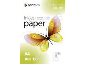 Fotopapier PrintPro matný 190g/m?,100ks,A4