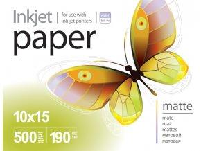 Fotopapier PrintPro matný 190g/m?,500ks,10x15