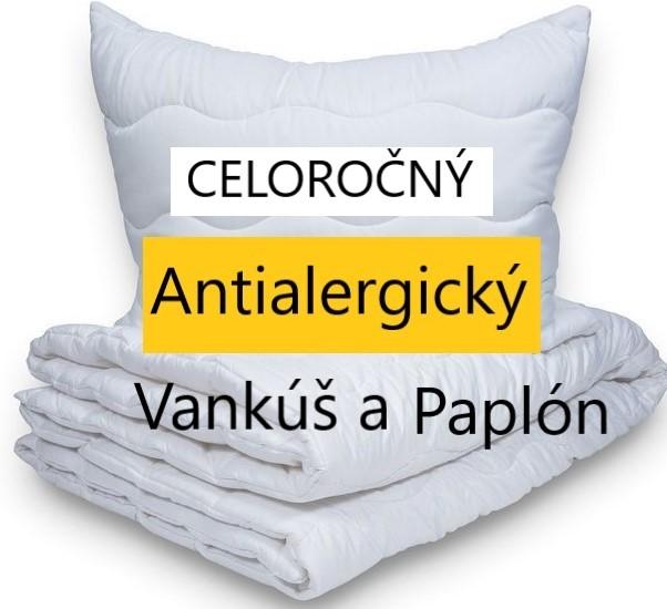 Paplón a vankúš Bavlna/Polyester 70 x 90 140 x 200
