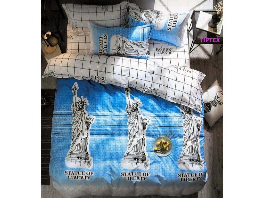 Obliečky STATUE of LIBERTY Bavlna 7-dielna súprava
