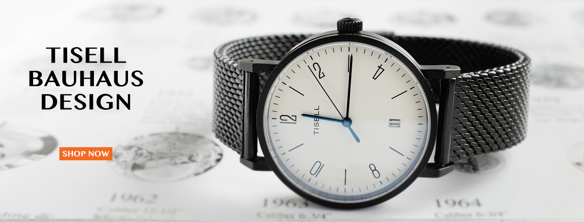 Bauhaus Tisell watch