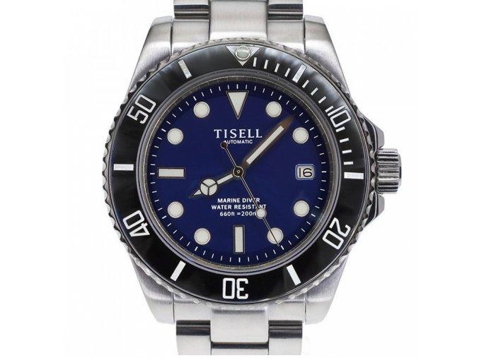tisell black blue diver
