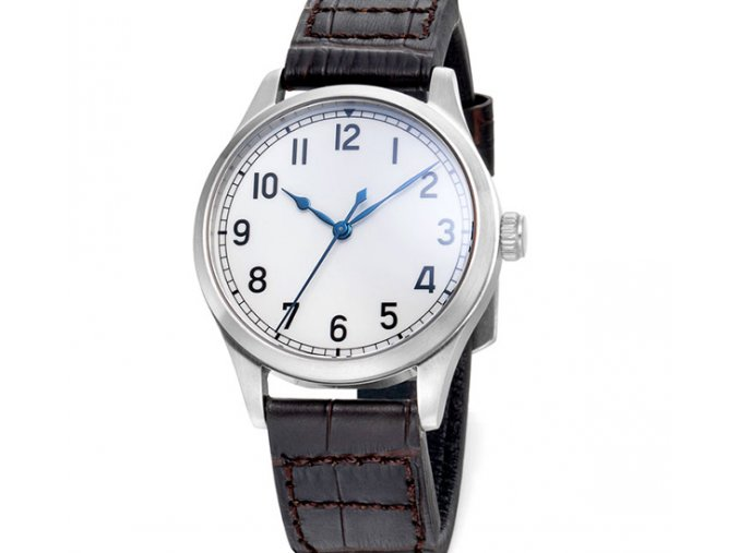 TISELL Marine Watch White Dial