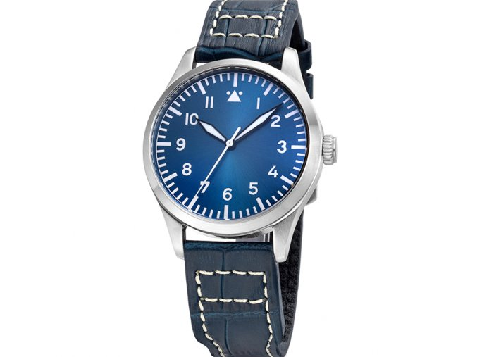TISELL Pilot Watch 40 mm Blue