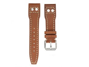 ORIGINAL TISELL LEATHER STRAP BROWN