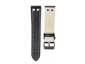 CONDOR 684 LEATHER STRAP BLACK