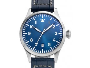 TISELL Pilot Watch  40 mm, Blue Date