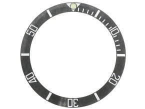 Black Bezel for Vintage Submersible  Tisell Diver Watch