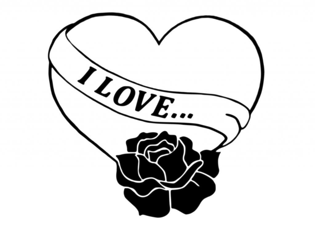 Srdce I love