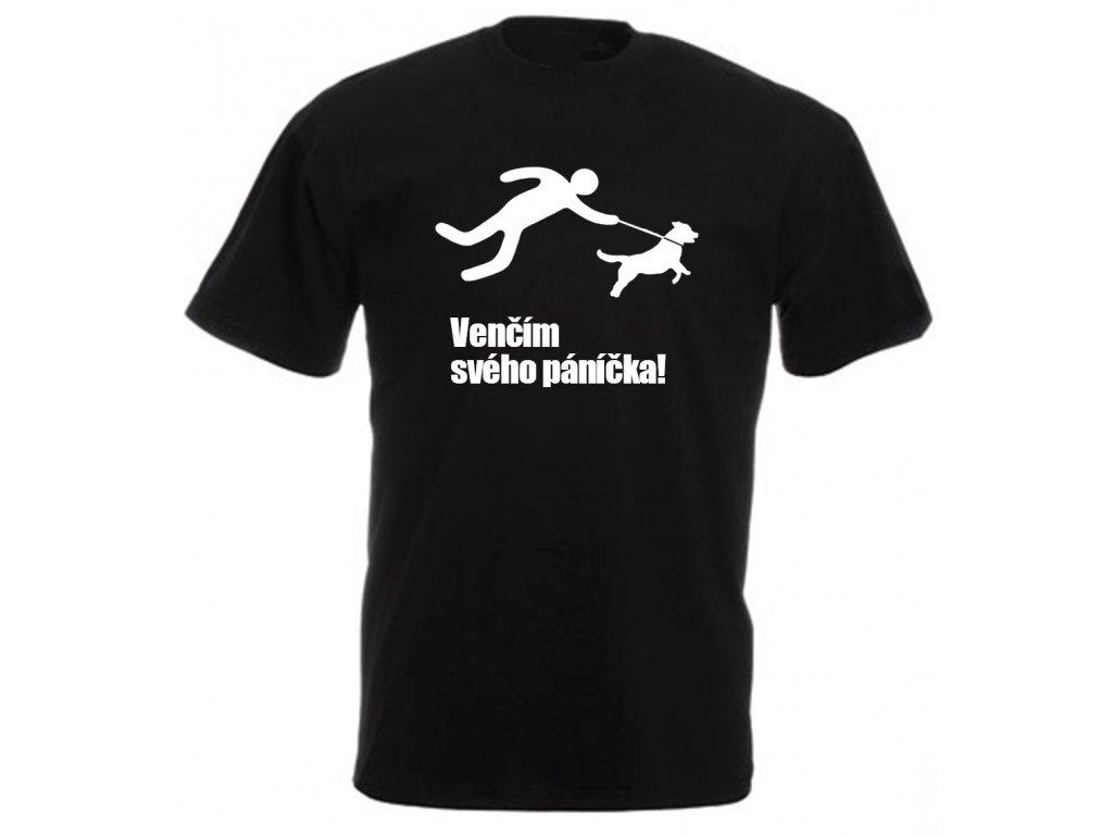 Reklama tričko Venčím svého páníčka