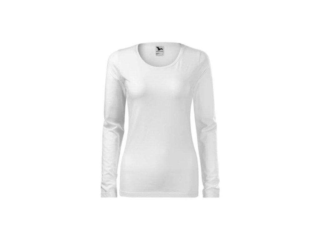 Dámské triko dlouhý rukáv 139 bílá