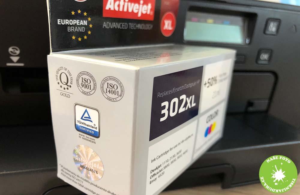 náplň do tiskárny hp 302 barevná