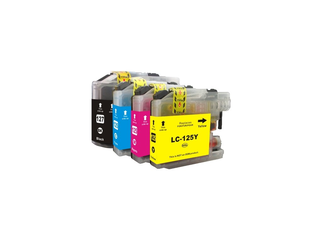 Multipack Brother LC-127 CMYK