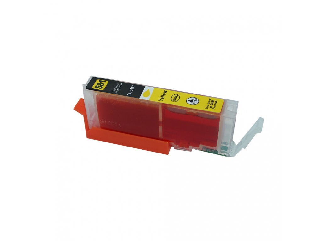 Canon CLI-581 XXL yellow - kompatibilní