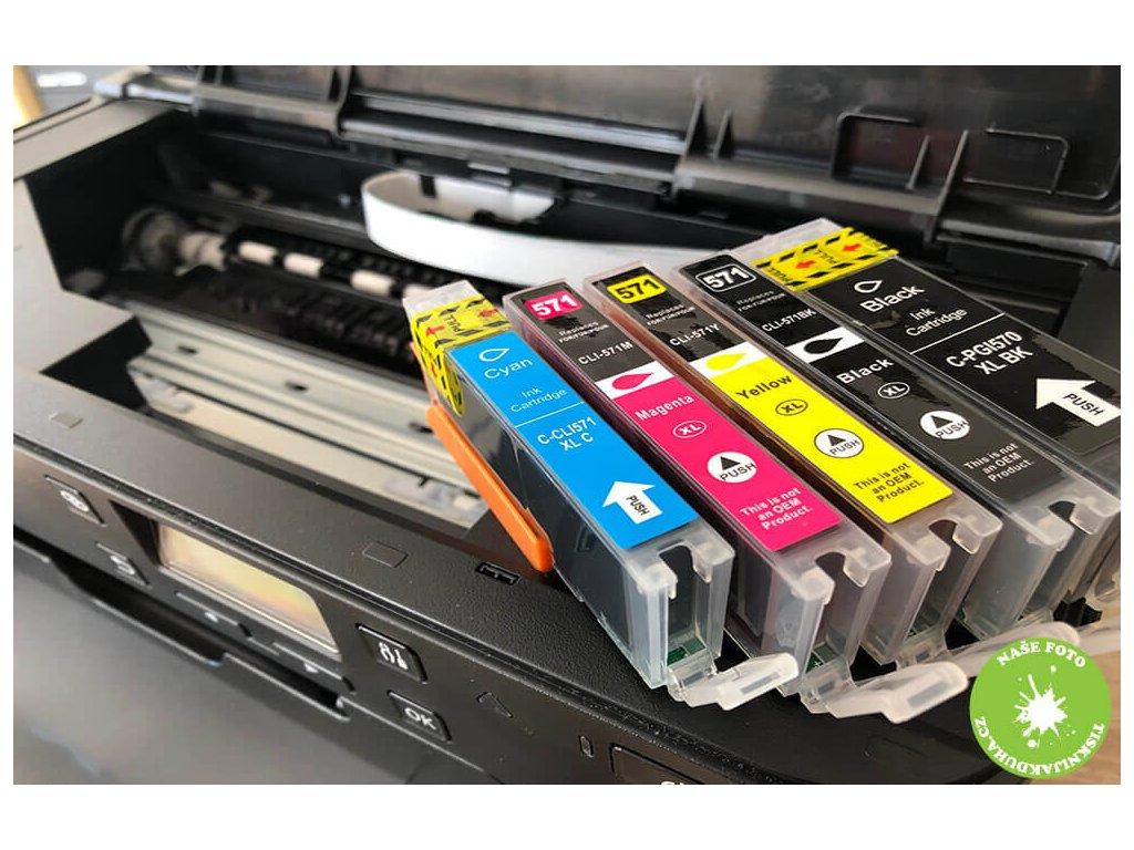 Barvy do tiskárny Canon mg 5750 - kompatibilní