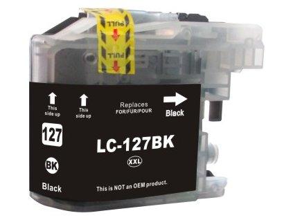 Brother LC-127XLBK - kompatibilní