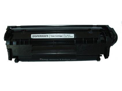 2x toner HP Q2612A bk - kompatibilní