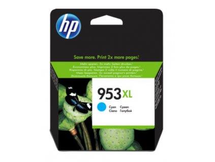 HP 953XL, F6U16AE cyan - originální