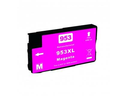 HP 953XL, F6U17AE magenta - kompatibilní