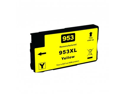 HP 953XL, F6U18AE yellow - kompatibilní