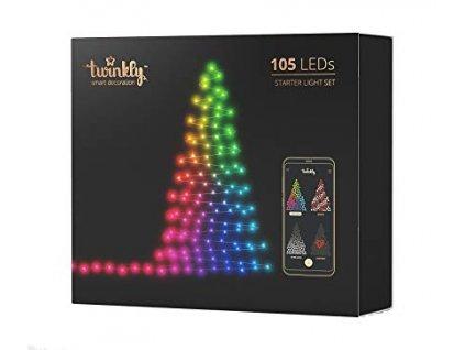 Chytré žárovky na stromeček Twinkly, 105 led