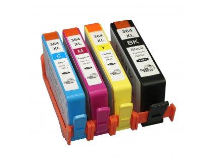 Barvy do tiskárny hp 364 - kompatibilní