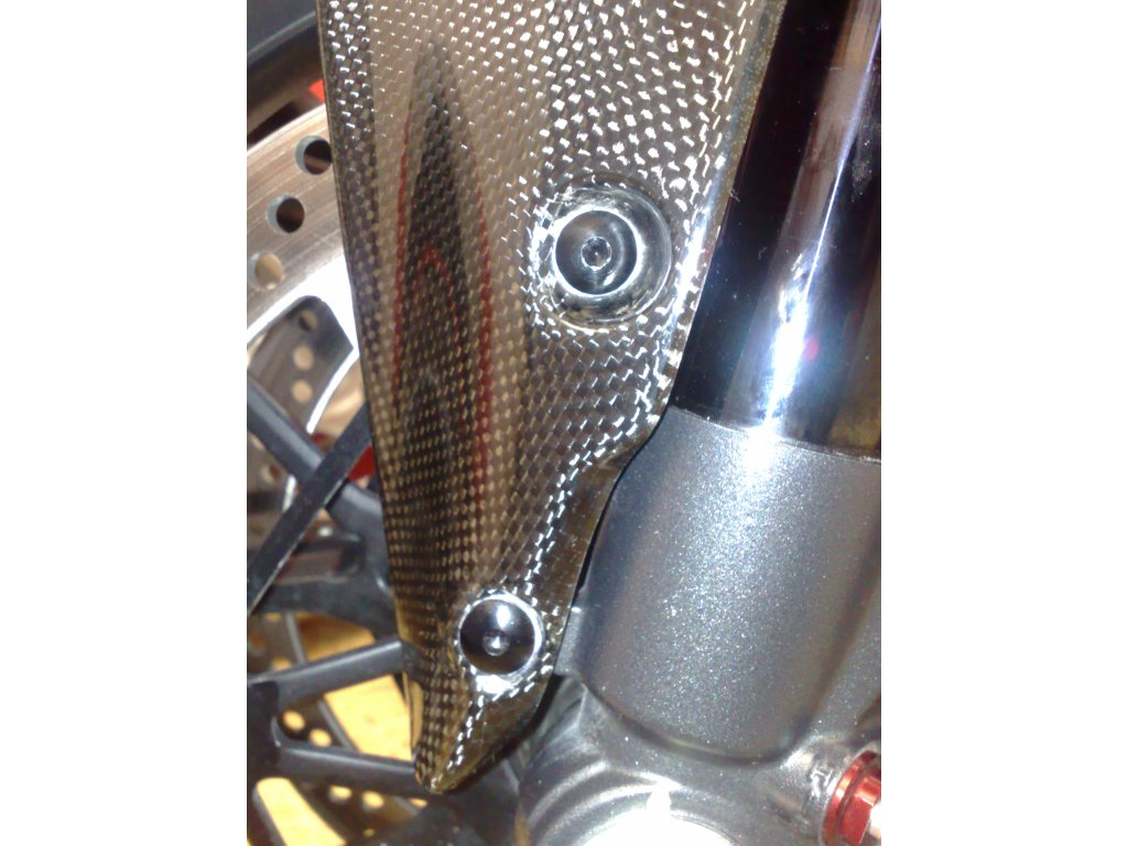 Sada šroubů předního blatníku pro Ducati 848/1098/1198/SF - 4 ks ERGAL