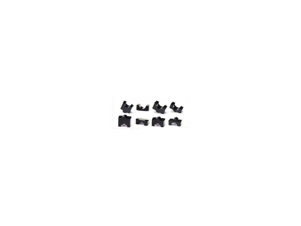 Redukce řidítek  ACCOSSATO pr. 22/28 mm  OFFROAD kit (STANDARD + 10 mm)