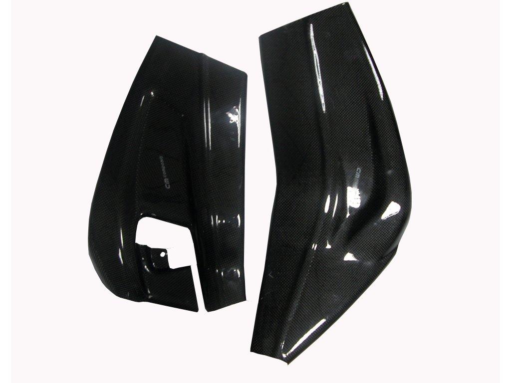 Kryt kyvné vidlice levý CM COMPOSIT pro BMW S1000RR r. 2009 - 2010 CARBON