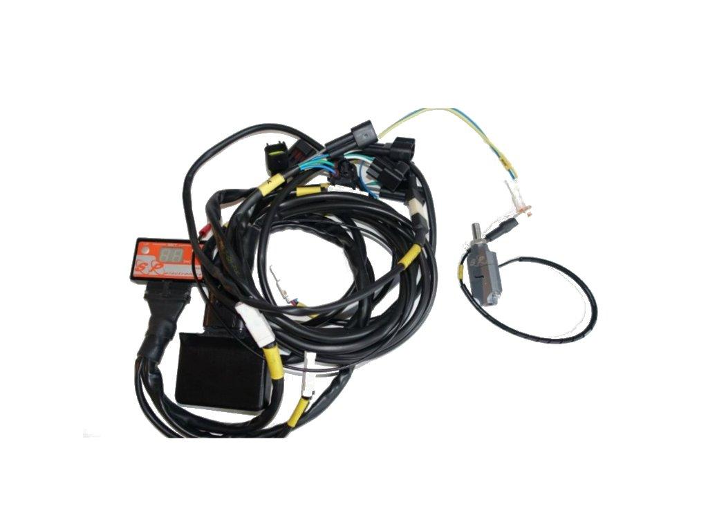 Quick shifter kit (rychlořazení) pro motorku SP ELECTRONICS  s TAHOVÝM senzorem pro Suzuki