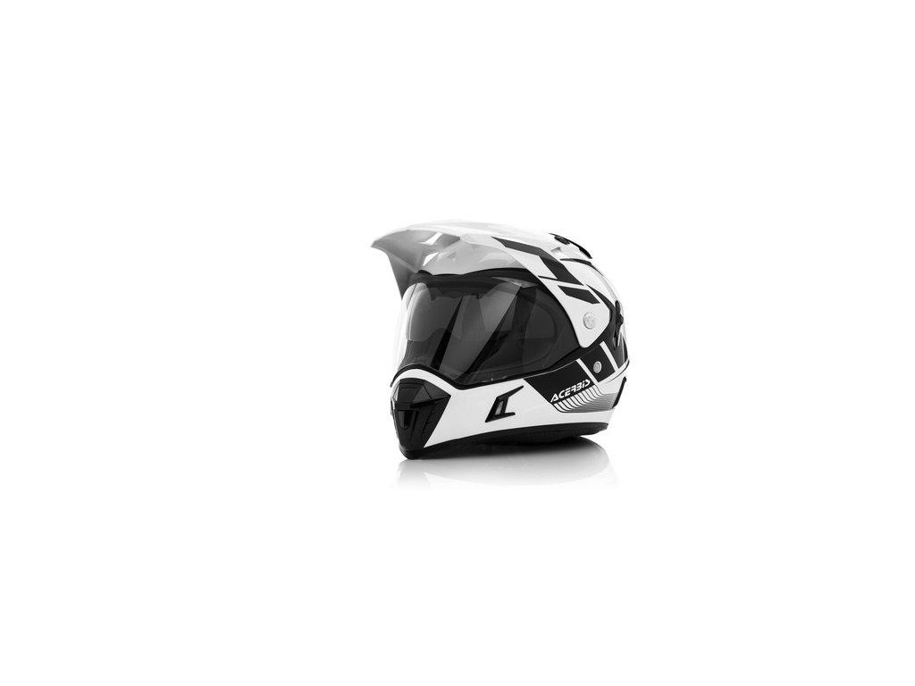 Přilba ACERBIS na silniční enduro motocykl - model Active Graffix