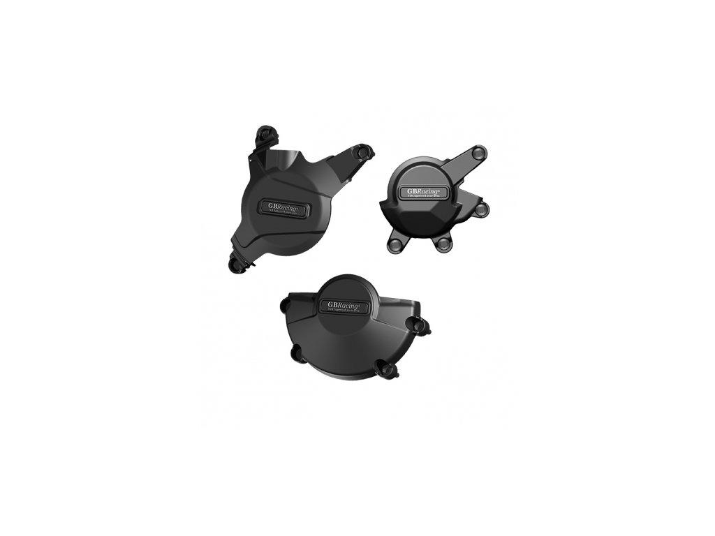 Sada krytů motoru GB RACING - HONDA CBR600RR r. 07-12