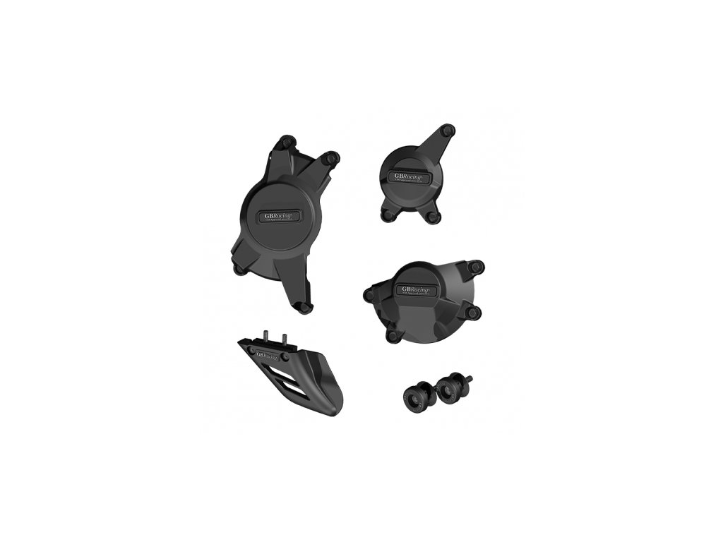 Sada krytů motoru, race bullet slidery, padací protektory zadní vidlice GB Racing - SUZUKI GSX-R1000 K9-12