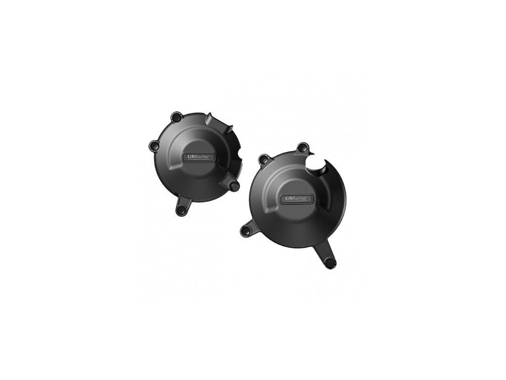 Sada krytů motoru, kryt víka alternátoru a víka spojky - SUZUKI SV650N (F)