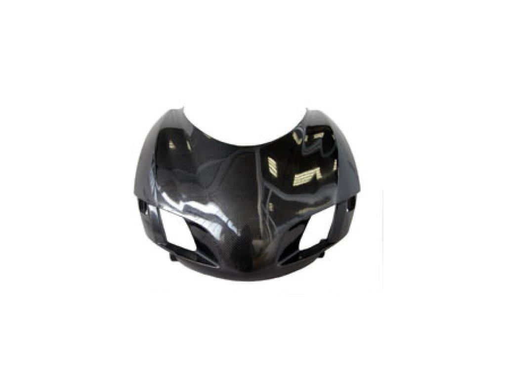 Přední maska uzavřená CM COMPOSIT pro DUCATI 999/749  RACING CARBON