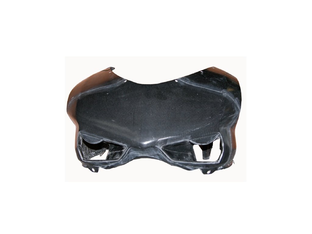 Přední maska CM COMPOSIT pro DUCATI 848/1098/1198 SSTK CARBON