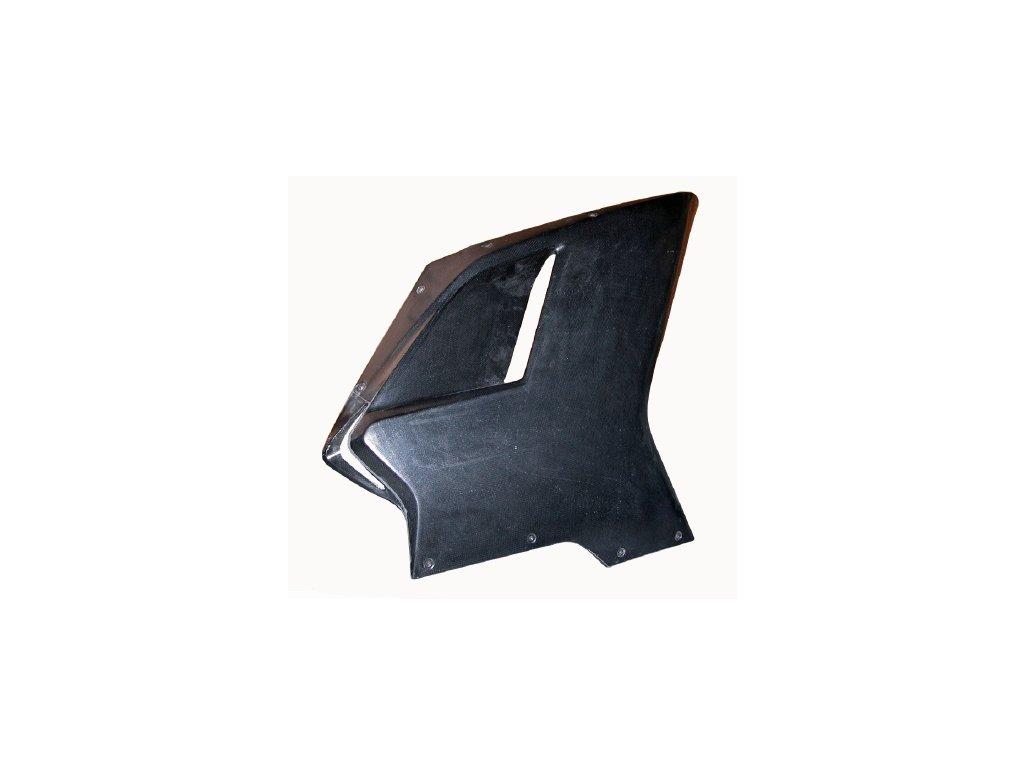 Pravý boční díl kapotáže CM COMPOSIT pro DUCATI 848/1098/1198 SSTK (GFK sklolaminát)