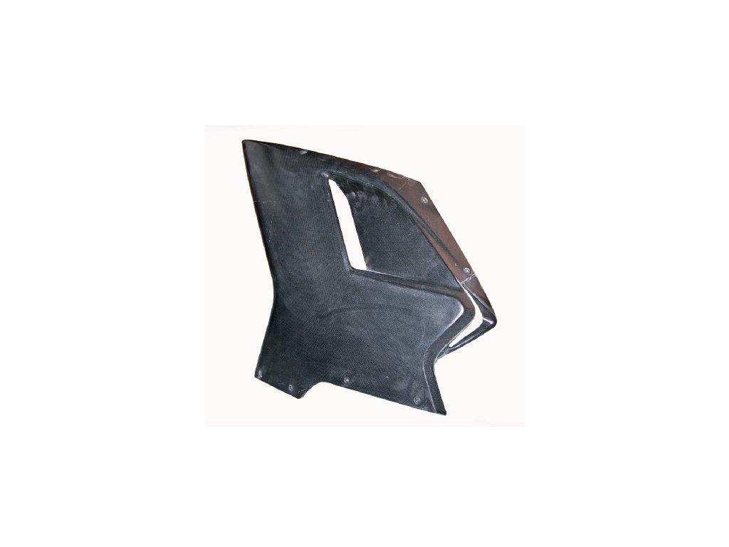 Levý boční díl kapotáže CM COMPOSIT pro DUCATI 848/1098/1198 SSTK (GFK sklolaminát)
