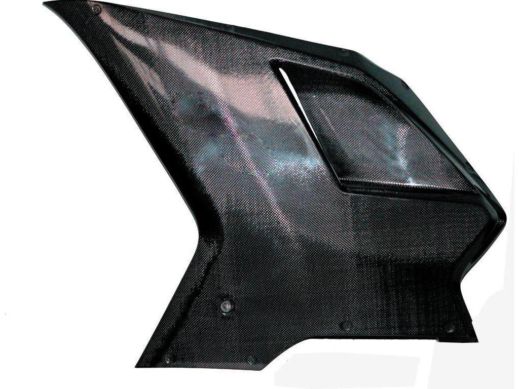 Levý boční díl kapotáže CM COMPOSIT pro DUCATI 848/1098/1198 STRADA CARBON