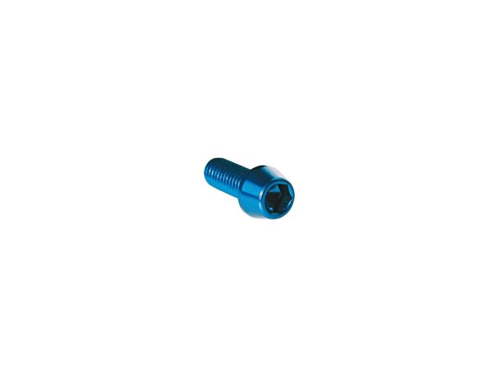 Šroub TCCE (DIN 912) - M8 - vnitřní šestihran, kuželová hlava,  materiálové provedení AL7075 - ERGAL
