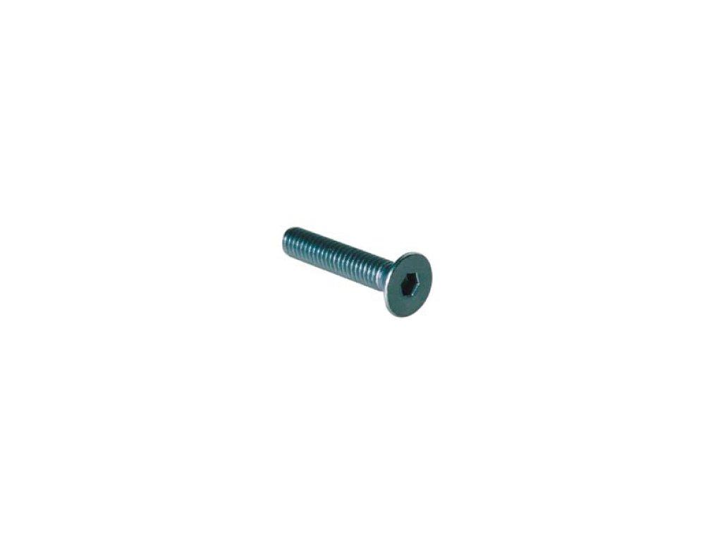 Šroub TSPEI (DIN 7991) - vnitřní šestihran, zapuštěná hlava,  materiálové provedení AL7075 - ERGAL