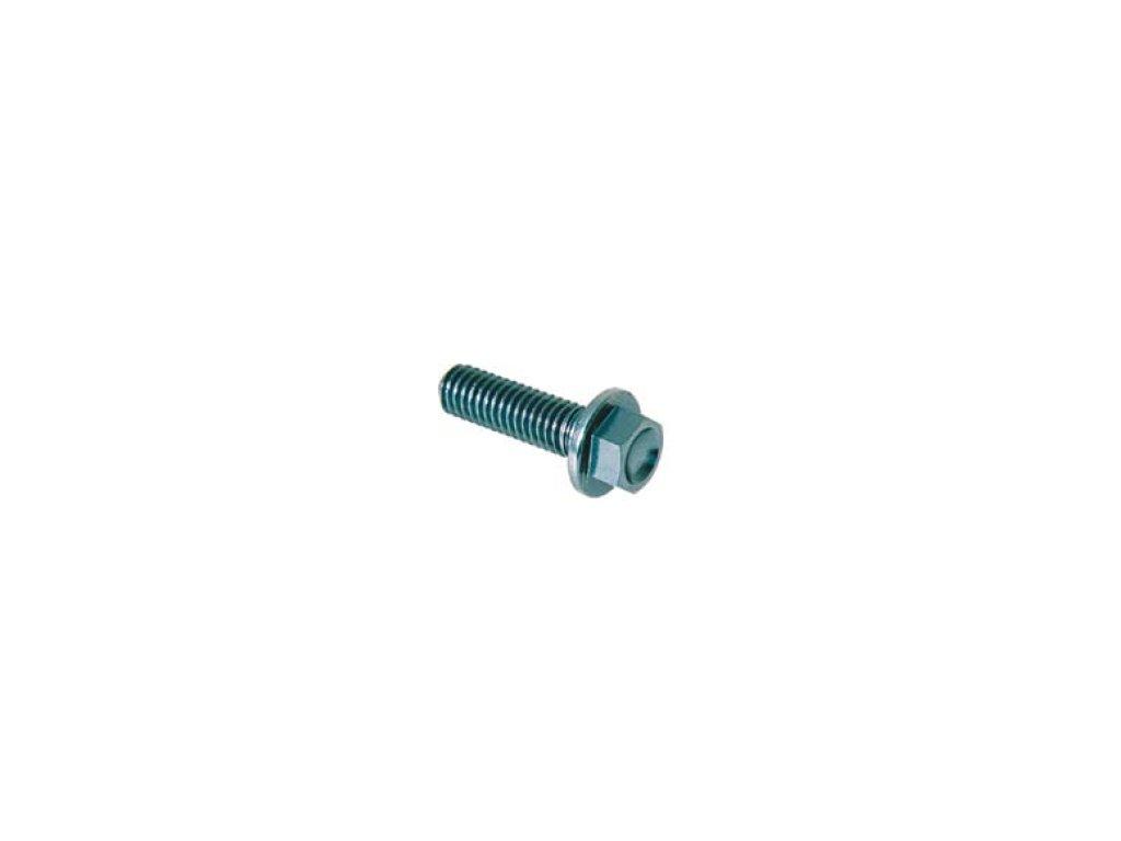 Šroub TER (SPECIAL) - M5 - vnější šestihran s límcem,  materiálové provedení AL7075 - ERGAL