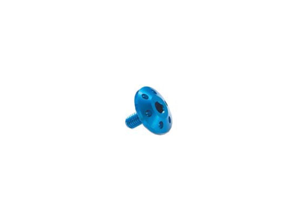 Šroub TTLEI Forate (SPECIAL) - vnitřní šestihran, plochá čočkovitá hlava dekor , materiálové provedení AL7075 - ERGAL