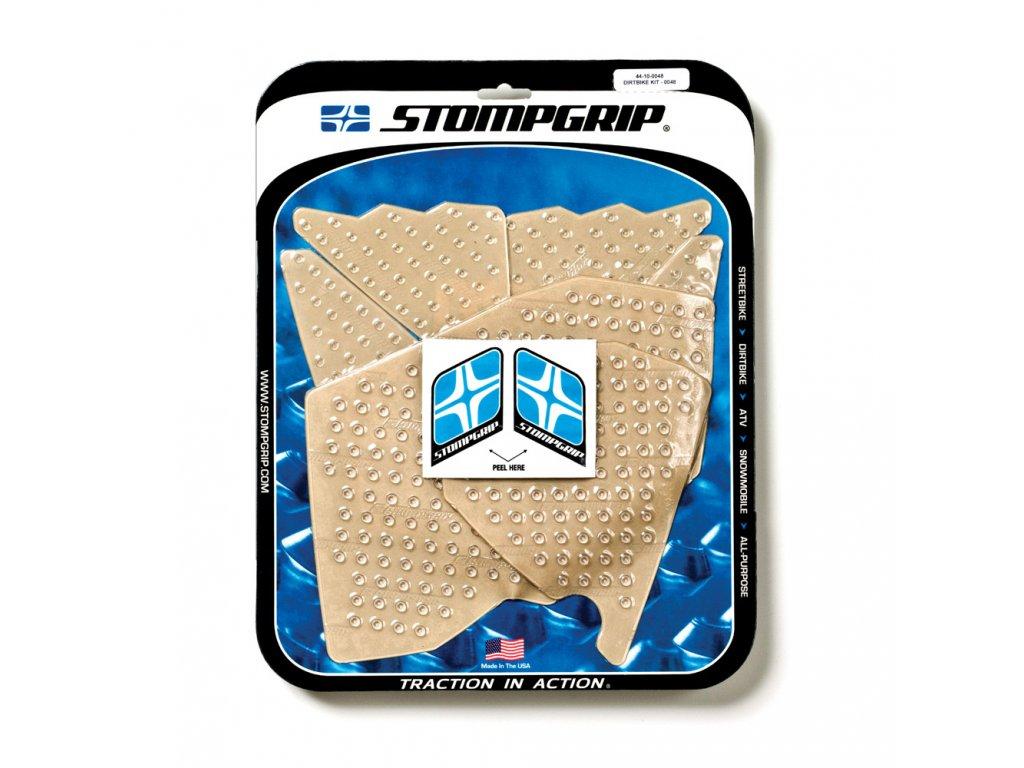 Protiskluzové a ochranné polepy nádrže a bočnic STOMPGRIP - KTM SX 125 r.07-10 - pár