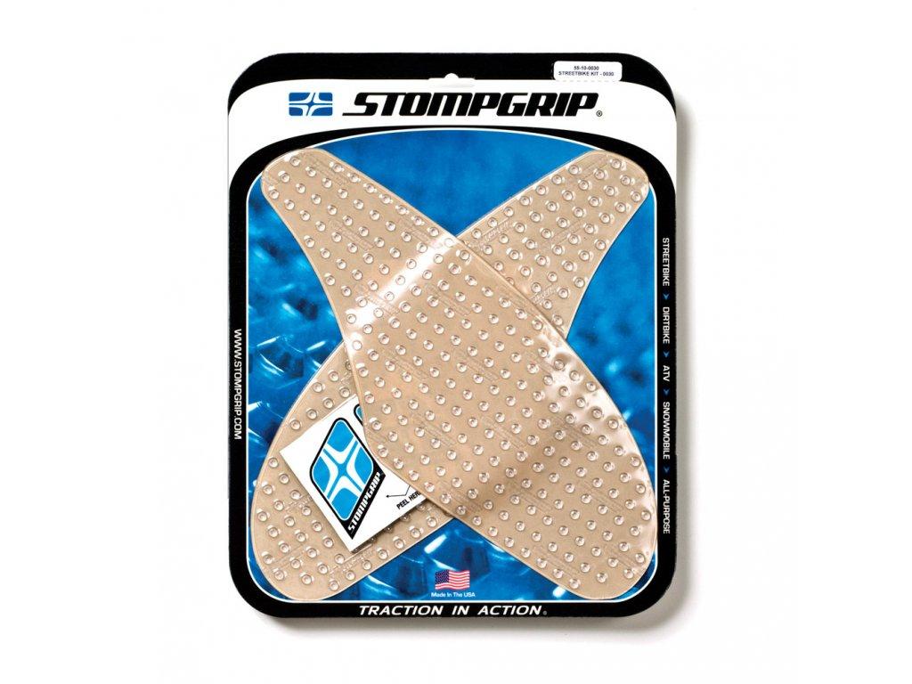 Protiskluzové a ochranné polepy nádrže STOMPGRIP - 04-07 KAWASAKI ZX10R - pár