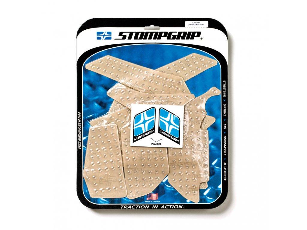 Protiskluzové a ochranné polepy nádrže a bočnic STOMPGRIP KTM SX/EXC 11-13 - pár