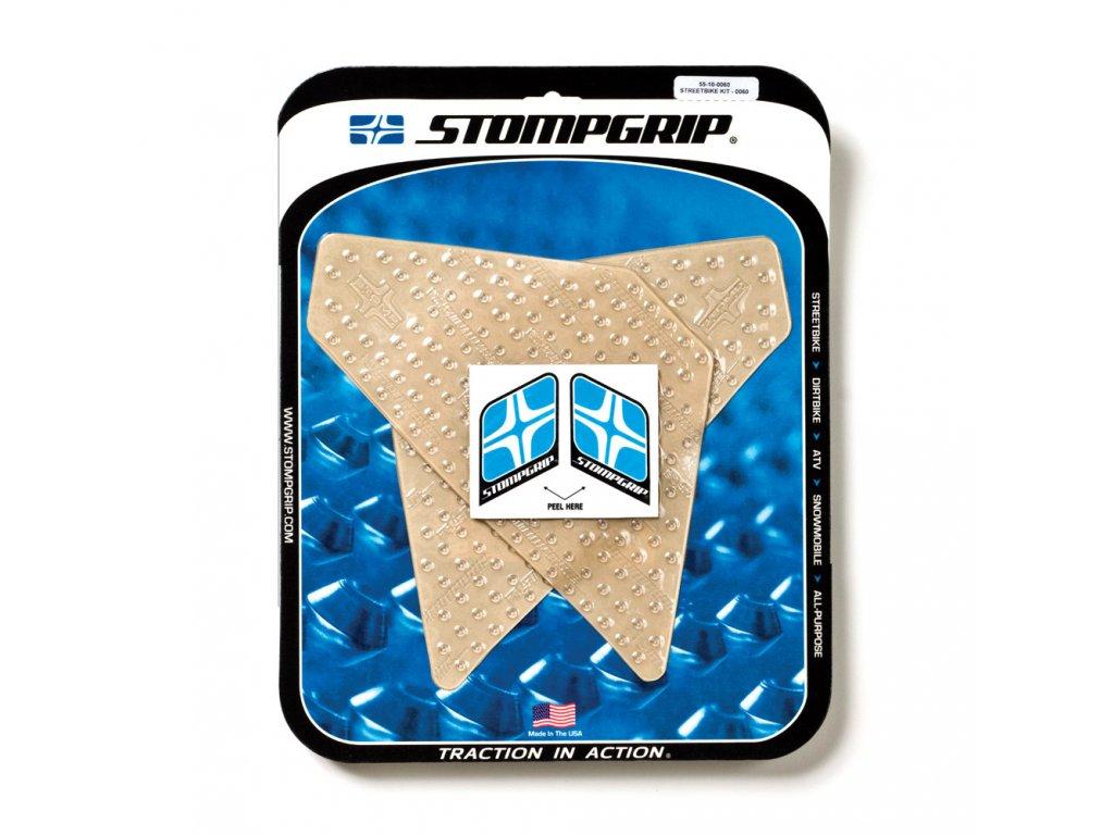 Protiskluzové a ochranné polepy STOMPGRIP - 08-11 KTM DUKE 690/1190 Adventure - pár