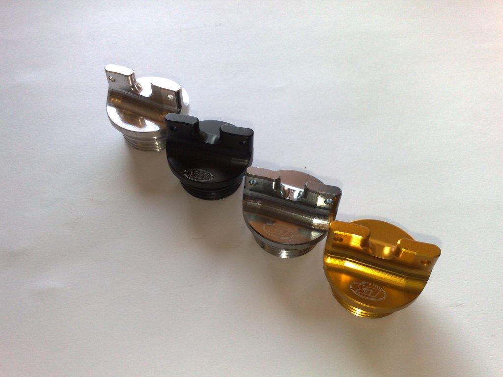 Šroub plnicího otvoru oleje L.L.S. Titanium Racing - DUCATI (všechny modely)  M 22 x 1,5 mm