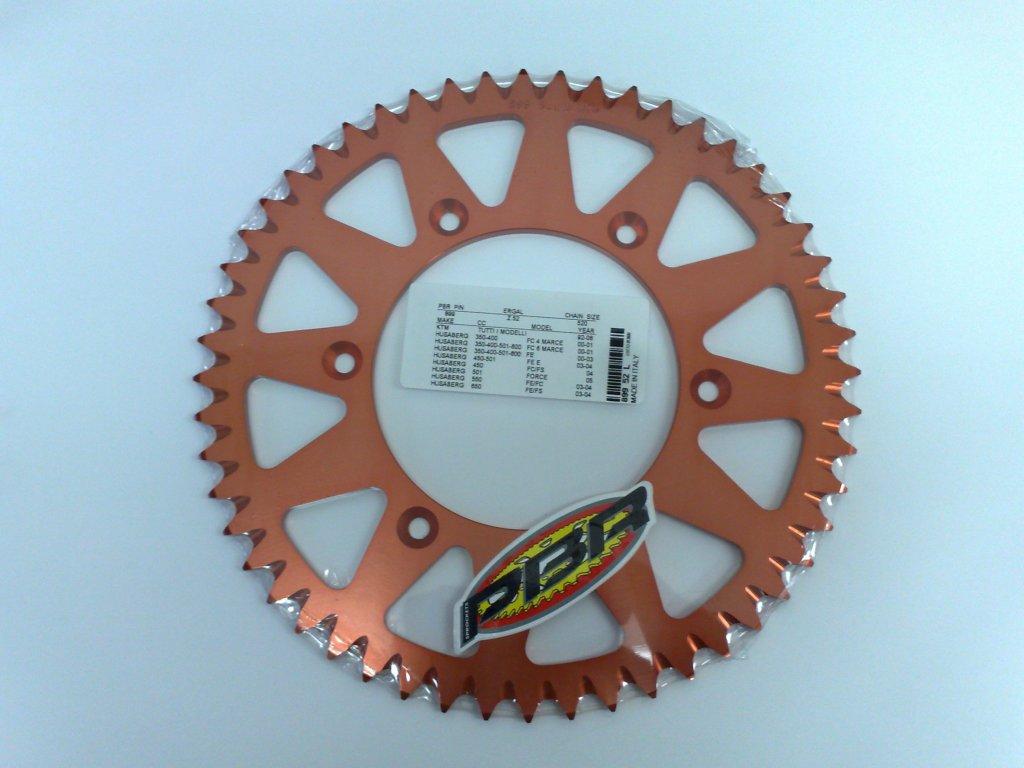Rozeta ergalová PBR Sprocket pro HUSABERG, KTM mod.520